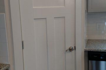 white craftsman door