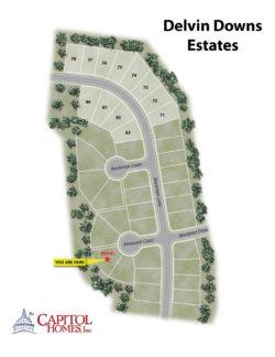 Nashville TN Homes at Delvin Down Estates