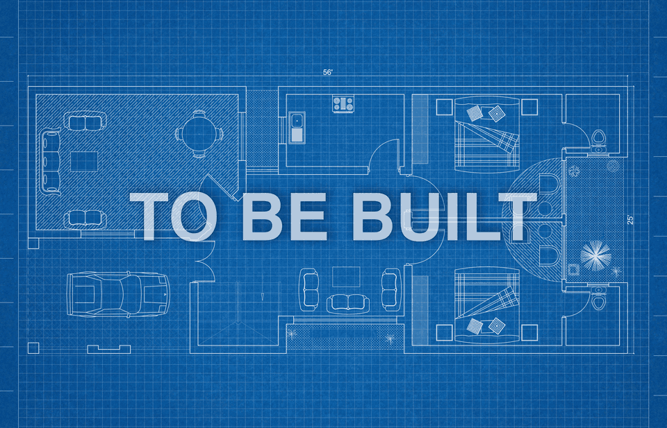 to be built graphic