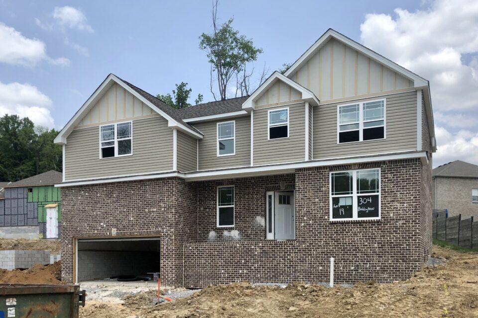 exterior new cunstruction