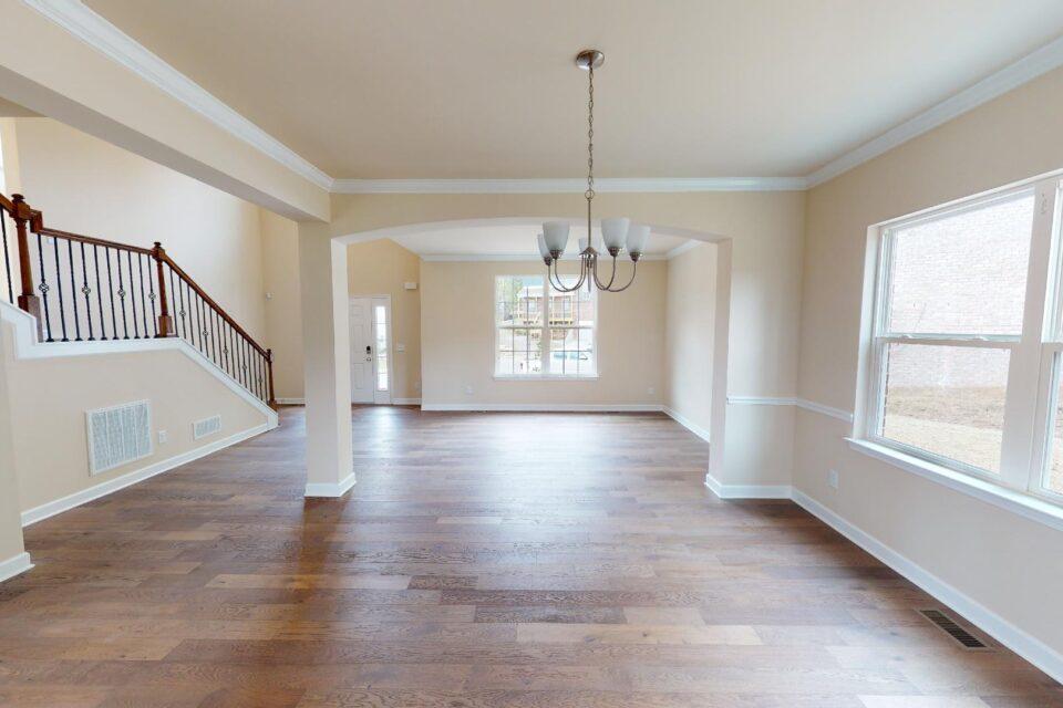 dining room / open floor plan