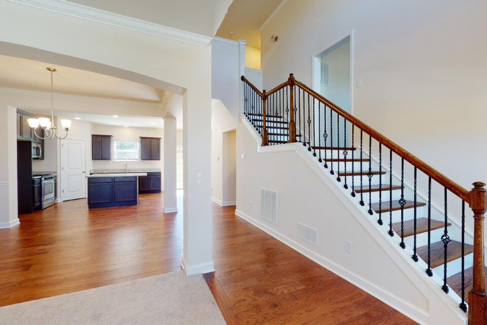 entry way / stairs